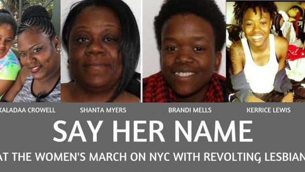 Say Her Name at Women's March