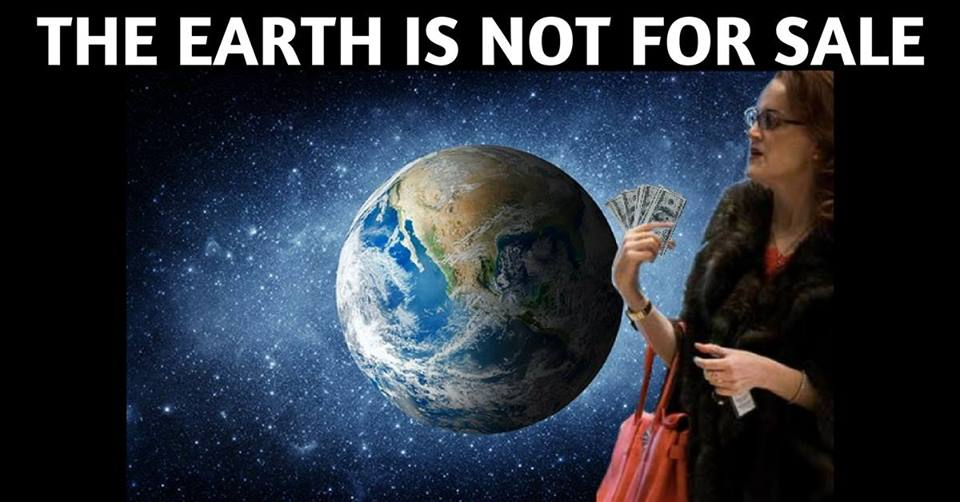 The Earth is Not For Sale – Revolting Lesbians